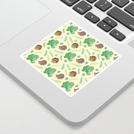 Paddle Plant Pattern Sticker