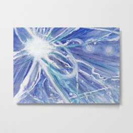 Tribute to Nikola Tesla Metal Print