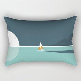View from the beach Rectangular Pillow