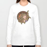medusa Long Sleeve T-shirts featuring Medusa by agentofanarchy