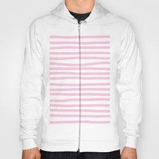 Pink Stripes Horizontal Hoody