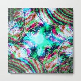 Bubble star Metal Print
