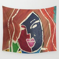 hollywood Wall Tapestries featuring Hollywood by Sevens Closet