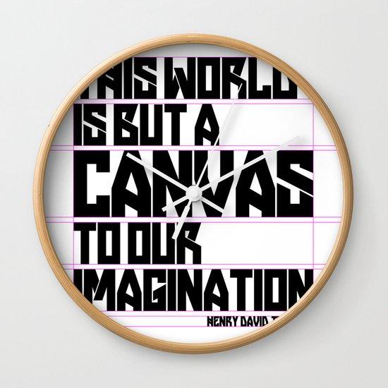 This World... Wall Clock