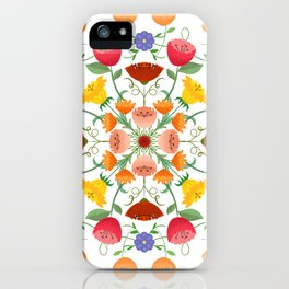 A Symphony Of Floral Delights iPhone Case