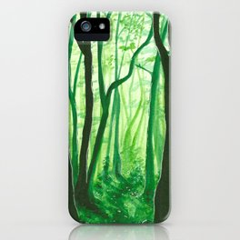 Mossy Dreams iPhone Case