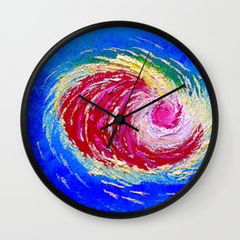 Accuweather Storm Warning Wall Clock