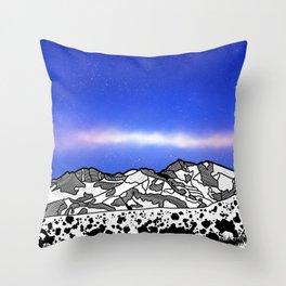 Mount Snowdon Wales Throw Pillow