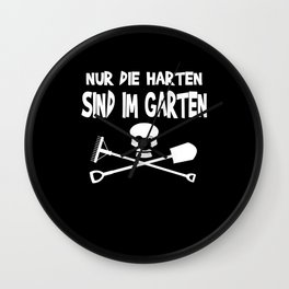 Garden Gift Idea For Gardener Wall Clock