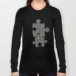Terrazzo Multicolor Texture Long Sleeve T-shirt
