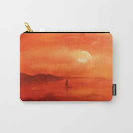 Sunset on the southern coast. Carry-All Pouch