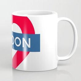 London Underground - Heart Coffee Mug