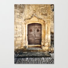 Histoire de portes II Canvas Print