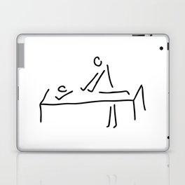 cure massage Laptop & iPad Skin