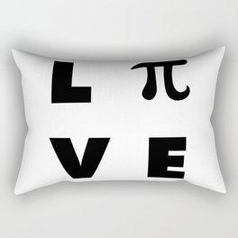 Love Pi Rectangular Pillow