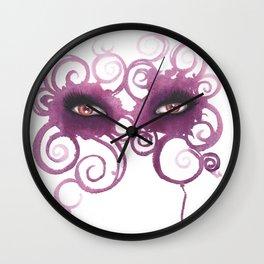 Eyes -Mask #1 Wall Clock