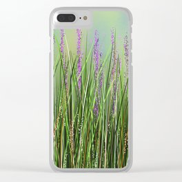 Lavenders 8 Clear iPhone Case