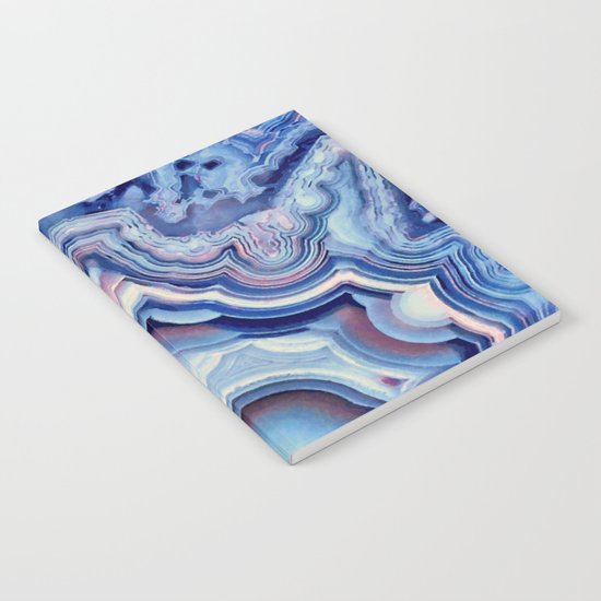 Agate lace Notebook