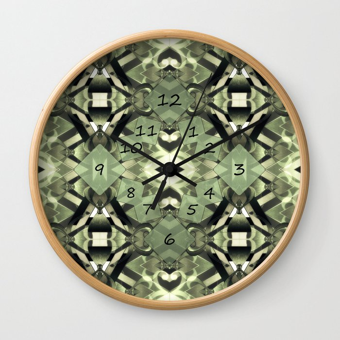 Seated in the Heart Wall Clock
