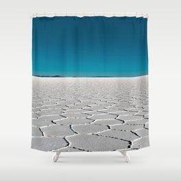 Salt Flats of Salar de Uyuni, Bolivia #2 Shower Curtain