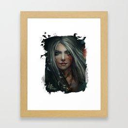 Cirilla - The Witcher Framed Art Print