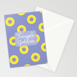 Fineapple Goddess Stationery Cards