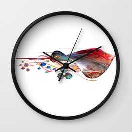Electric Stingray Wall Clock