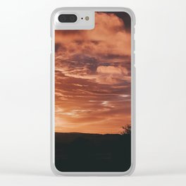 Sunrise In Roundwood Clear iPhone Case