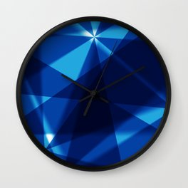 BLUE FOR YOU BLUE FOR ME Wall Clock