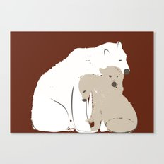 Animals Illustration Canvas Print