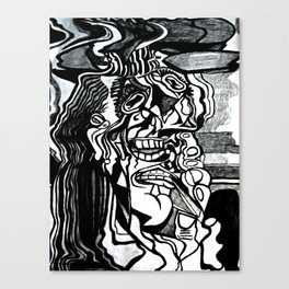 Basically Picasso Canvas Print