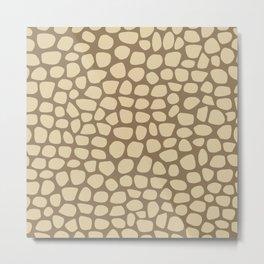 Pattern of painted stones #6 Metal Print