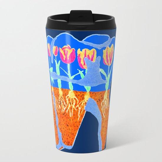Tooth Terrarium 2 Metal Travel Mug