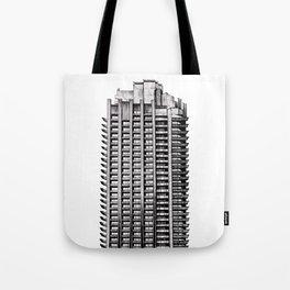 Barbican - Brutalist building illustration Tote Bag