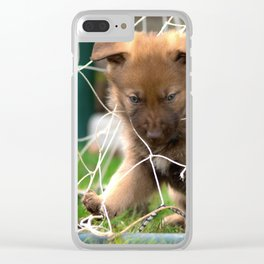 Goalkeeper of the new generation Clear iPhone Case