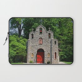Lourdes University-  Portiuncula  Chapel in the Spring I Laptop Sleeve