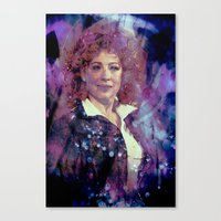 river song Canvas Prints featuring River Song by Sirenphotos
