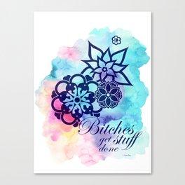 Get Stuff Done Canvas Print