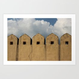 Clouds Over Windows Art Print