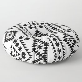 GEO PANEL WHITE Floor Pillow