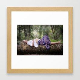 In Expectation Framed Art Print