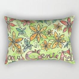 SOMOS GENTE FELIZ Rectangular Pillow