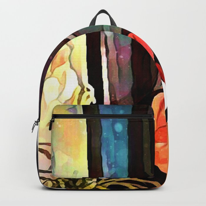 Crumpled Crosses Backpack