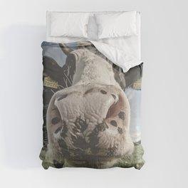 Inquisitive Cow Comforters