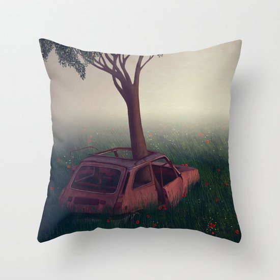 I Lied Throw Pillow