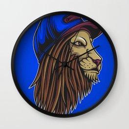 Lion Wild Big Cat Roar Wall Clock
