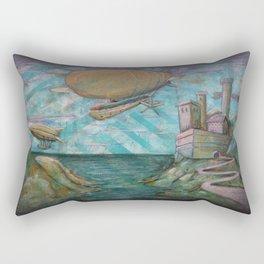 Far Off Land Rectangular Pillow