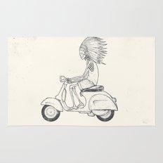 Indian Rider Rug