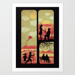 Together always Art Print