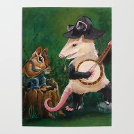 Hillbilly Critters Poster